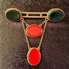 Vintage Pin C.1900 14k gold  Bloodstone/Carnelian Absolutely stunning vintage piece from circa 1900.  This pin is 14 karat gold with Bloodstone in Carnelian  Beautiful detail on the goldwork.  Comes with the original box. Was purchased from Pippin Vintage Jewelry.  The dimensions of this particular piece or 2 inches wide by 2 1/2 inches long Jewelry Brooches Vintage Pins, Vintage Jewelry, Goldwork, Absolutely Stunning, Beautiful, 14 Karat Gold, Carnelian, Brooches, Shop My