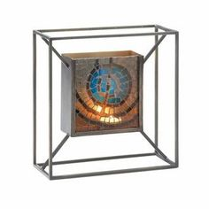 Mosaic Blue Accent Wall Sconce #HomeDecor #Home #Design #LivingRoom #Decor