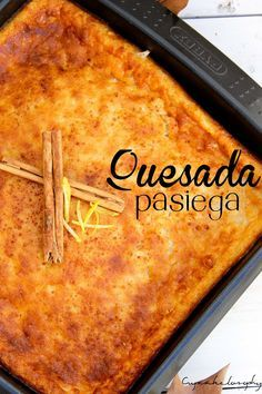 Quesada pasiega Spanish Desserts, Spanish Dishes, Filipino Desserts, Great Desserts, Delicious Desserts, Yummy Food, Sweet Recipes, Cake Recipes, Dessert Recipes