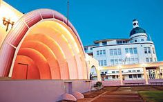 Napier's beachfront Art Deco Sound Shell opposite the boutique Dome Hotel © Amos Chapple / Lonely Planet New Zealand Cruises, New Zealand Itinerary, New Zealand Tattoo, New Zealand Art, Maori Tattoos, Key Tattoos, Skull Tattoos, Foot Tattoos, Sleeve Tattoos