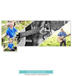 INSTANT DOWNLOAD - Facebook custom timeline cover photoshop template - E794