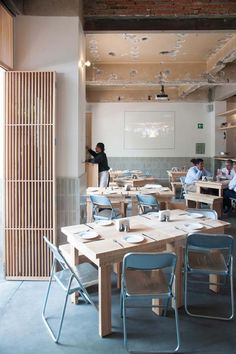 Cantina Mexicana Restaurant in Mexico City Designed by Taller Tiliche: Indoor area of Cantina Mexicana Restaurant