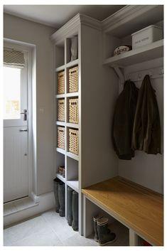 Mudroom Laundry Room, Laundry Room Design, Kitchen Designs, Boot Room Utility, Utility Room Designs, Utility Room Ideas, Hallway Storage, Ikea Utility Room Storage, Boot Room Storage