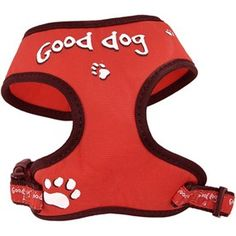 Relax Soft Sele GOOD DOG Red XS Best Dogs, Relax, Keep Calm