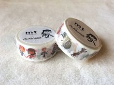 mts latest 2015 Summer collection is here! Authentic mt washi masking tape in lovely patterns by Alain Gree, a popular French illustrator and