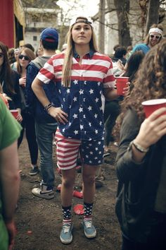 'Merica- fourth of July outfit?