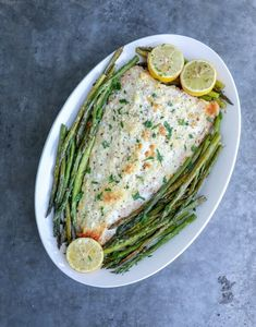 This Keto Sheet Pan Salmon & Asparagus makes an elegant low carb brunch or dinner recipe that takes just minutes to prepare, but looks and tastes like you slaved for hours! As an added bonus, this ket Bbc Good Food Recipes, Healthy Dinner Recipes, Low Carb Recipes, Diet Recipes, Seafood Recipes, Pasta Recipes, Soup Recipes, Recipies, Salmon And Asparagus
