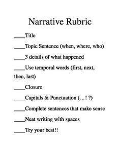2 paragraph essay rubric read