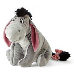 disney felpa eeyore burro de winnie the pooh ! disney plüsch eeyore esel von winnie the pooh Disney Plush, Disney Toys, Walt Disney, Disney Stuffed Animals, Dinosaur Stuffed Animal, Peluche Winnie The Pooh, Disneyland, Winnie The Pooh Christmas, Cute Plush
