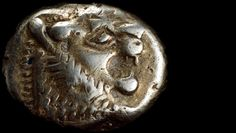 """""""Hey, is that a lion?"""" ~S.Kyle The world's first coin, minted by King Alyattes in Sardis, Lydia, Asia Minor (present-day Turkey), c. 610-600 BC."""