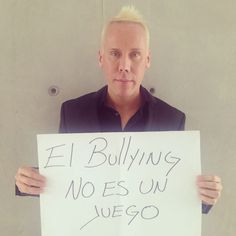 #ElBullyingNoEsUnJuego