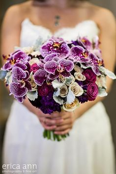 Rich and bold ~ Photography: Erica Ann, Flowers: Sophisticated Floral Designs | bellethemagazine.com