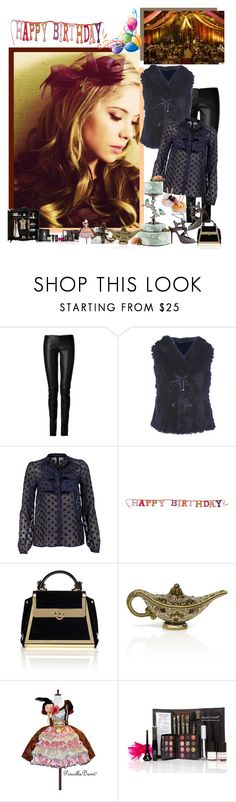 """Happy Birthday"" by fashionqueen76 ❤ liked on Polyvore featuring Reception, Jitrois, SuperTrash, Vero Moda, Monsoon, Manolo Blahnik, Salvatore Ferragamo, Leiber, St. Tropez and Yves Saint Laurent"