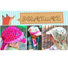 Schützmütz für Mama,Papa,Kind # Gr / KU 42-58 # Für Kinder, Mamas und Papas ! Wandelbar: mit Schirm, ohne Schirm, mit Nackenschutz oder ohne. Es sind keine Grenzen gesetzt! Für die Kleinen ein schöne Kopfschutz und für z.B. die Mami ein toller Sonnenhut # von Annas-Country bei DaWanda