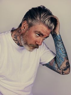 Miles Better #mensfashion #menshair #tattoo