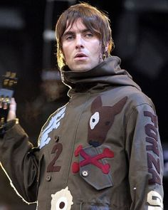 at Finsbury Park, : ©Brian Rasic. Leiden, Oasis Music, Oasis Band, Liam And Noel, Liam Gallagher Oasis, Finsbury Park, Beady Eye, Rude Boy, Hair