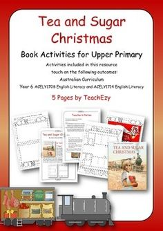 Book Activity for Tea and Sugar Christmas (Upper Primary)