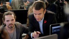 Comité campaña candidato presidencial Emmanuel Macron denuncia enorme ataque informático, en Francia
