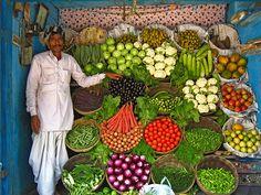 India multicolor, como molan los puestos así!
