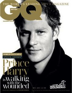 Prince Harry- Never thought he would be more handsome than Wills. He sure proved me wrong.