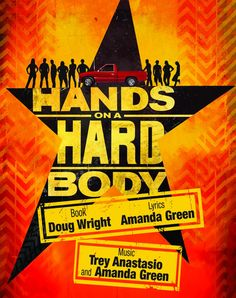 HANDS ON A HARDBODY January 29 – February 21, 2016 Thursday 8pm   Friday8pm   Saturday 8pm  Sunday2pm Industry Night: Monday, February 8 Book by Doug Wright   Lyrics by Amanda Green   Music by Trey Anastasio & Amanda Green Produced by TheatreWorks Florida   Directed by ScottA. Cook Central Florida Regional Premiere A new …