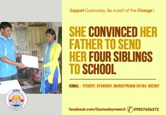 Heart touching story of how #education transformed the life of a girl. Educating a child is like polishing a diamond. It takes time and effort but the results are breathtaking. When a dust covered Komal joined #Gyanoday, she was ignorant about personal #hygiene. Such is the magnitude of the change that today; a family whose household earning depended on garbage collection has opened up a general store in Mangatpura and moved into a self constructed house away from the landfills. Her journey…