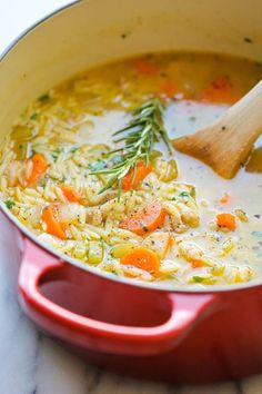 Lemon Chicken Orzo S