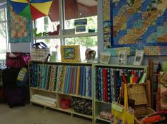 Quilt Shoppe Displays