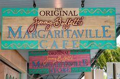 The Original Margaritaville Key West, FL. Been here too. Tons of Jimmy Buffett Souvenirs & Memorabilia.