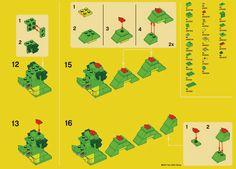 LEGO Monthly Mini Model Build:   Sea Serpent - Pt. 2 of 2  November 2012 – Smashing Bricks