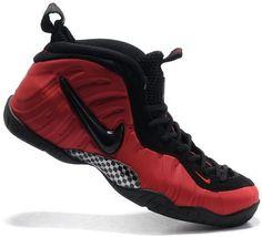 Nike Air Foamposite Pro Black Red0