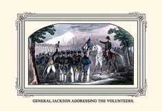 General Jackson Addressing the Volunteers