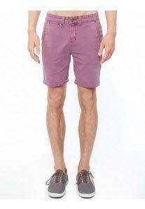 Neuw - Slim Chino Shorts - Chinos (Burnt Plum) Cotton chino #shorts.