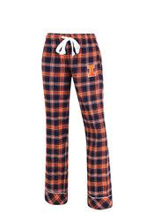 Illinois Womens Flannel Navy Blue Sleep Pants