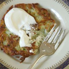 These crispy potato pancakes are equally delectable served with sour cream or applesauce.