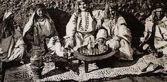 Algeria Postcard - Women enjoying Tea c 1920s