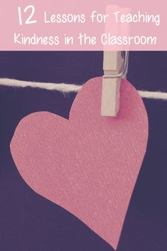 These 12 lessons will help create a classroom climate that is bursting with kindness. Hands on activities and amazing read alouds lead your students to discovering what it means to be kind. Kindergarten Behavior, Classroom Behavior Management, Behaviour Management, Social Emotional Development, Social Emotional Learning, Elementary Counseling, School Counseling, Teacher Blogs, Teacher Stuff
