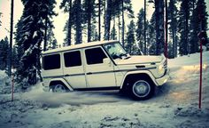 Enjoying the breathtaking scenery of Sweden, as well as testing its perils with the G-Class, is a magic moment you should not miss.