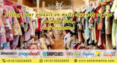 Selling your product on multi channels on just a single click.