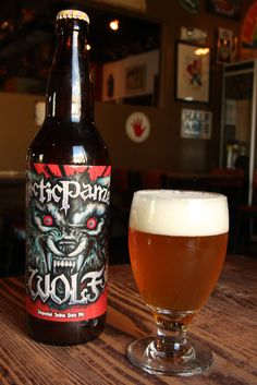 """From a pinner: """"3Floyds Arctic Panzer Wolf ... my new favorite beer.  Too bad it's not sold in MO."""""""