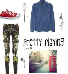 """""""pretty playing"""" by mangosarah on Polyvore"""