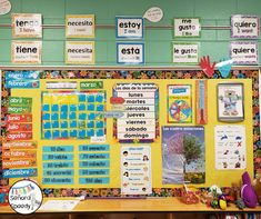 Calendar Time in the Elementary Spanish Classroom Part One