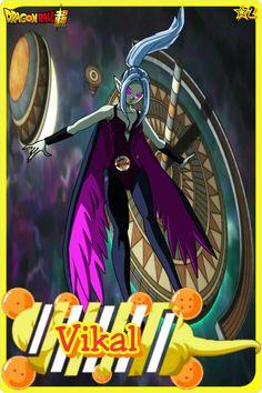 Vikal- Team Universe 2. Dragon ball super