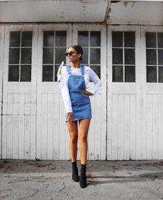 "12 k likerklikk, 68 kommentarer – Alicia Roddy (@lissyroddyy) på Instagram: ""Denim days, I am so ready for the warmer weather  dress by @missyempire - link to it in my bio now."""