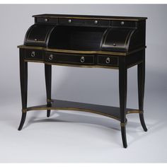 AA Importing 7 Drawer Armoire Desk