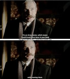 """Sherlock - The Abominable Bride - """"You are not a soldier. You are a doctor."""" - John Watson"""