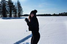 delilanevala.com Snow ride in Lapland Lifestyle