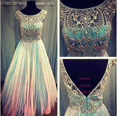 Crystal infinity dress prom long evening gown dress... I know I would never wear it but....