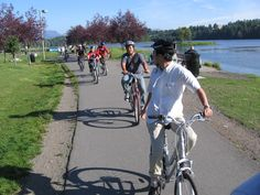 Anchorage is a cyclists' paradise with more than 300 miles of paved and unpaved paths, including the Chester Creek Trail that runs next to Westchester Lagoon.
