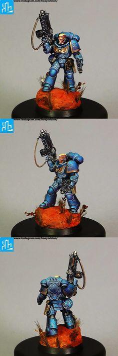 Primaris Ultramarines Intercessor Sergeant